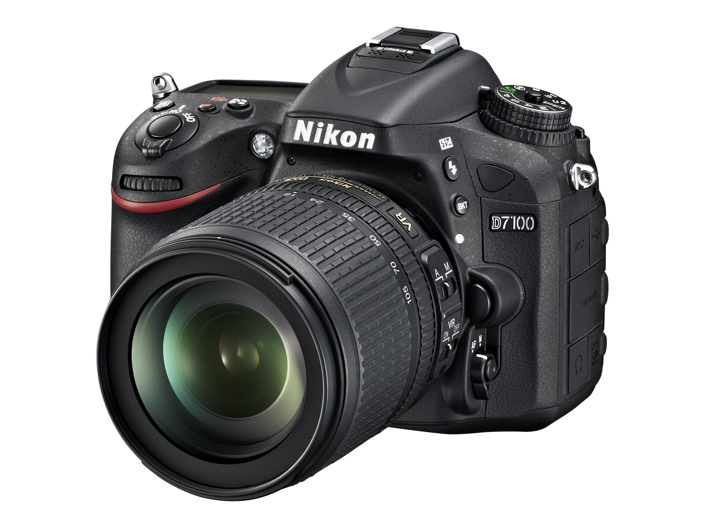 Nikon D7100 DSLR Camera Kit w  18-105mm f 3.5-5.6G ED VR DX Lens, Battery & Charger