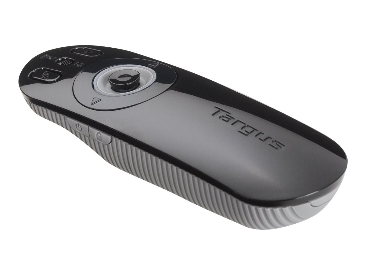 Targus Multimedia Presentation Mouse, Black Gray, AMP09US, 10199640, Remote Controls - Presentation