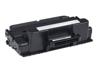 Dell 10000-page Black Toner Cartridge for Dell B2375dnf  B2375dfw Mono Multifunction Printers (593-BBBJ), C7D6F