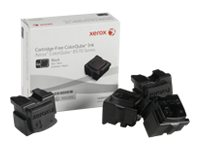 Xerox Xerox Colorqube Ink Black, Colorqube 8570 (4 Sticks), North America For Colorqube 8580, 108R00930, 12150436, Toner and Imaging Components