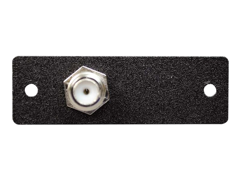 C2G Wiremold Audio Video Interface Plate (AVIP) One F-Connector Female to Female Barrel