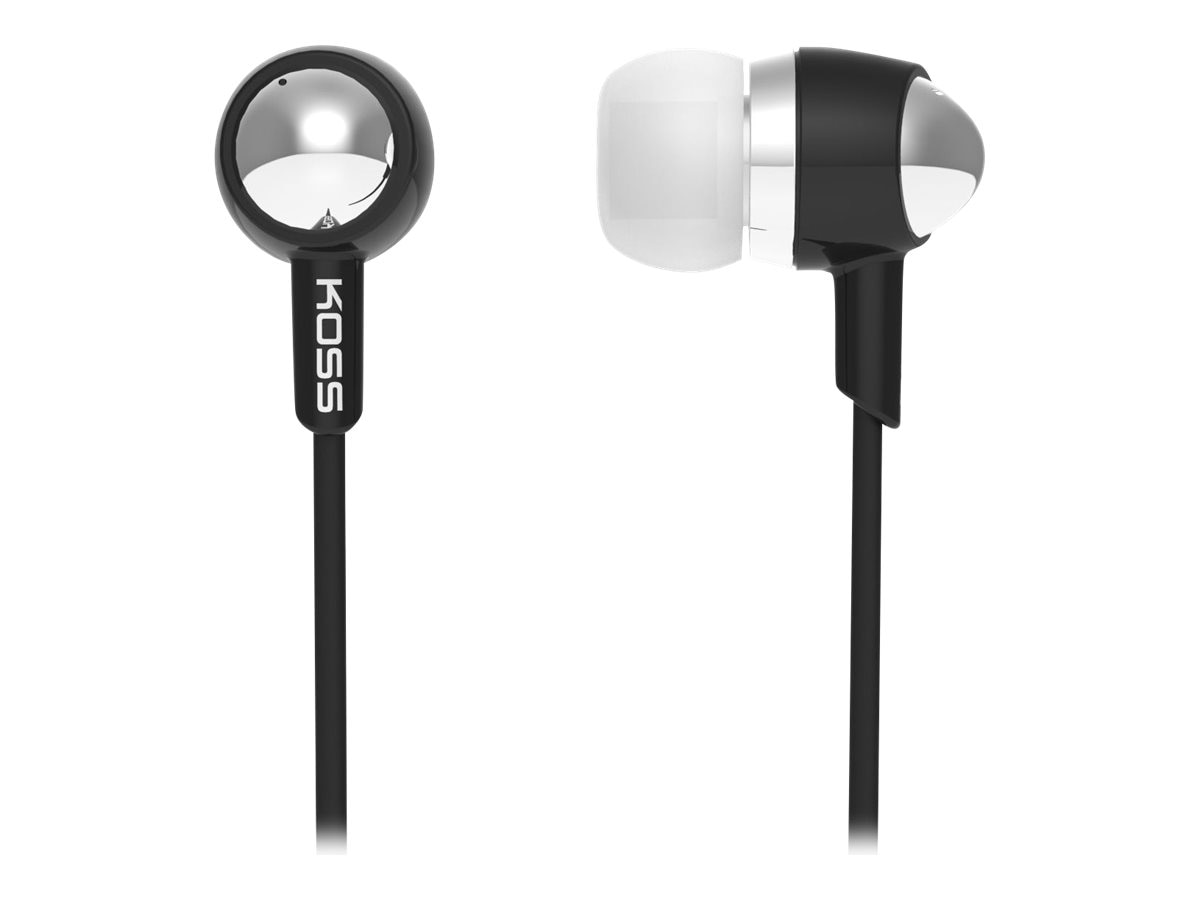 Koss In Ear Headphones - Black, 183822