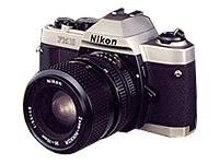 Nikon FM10 35mm SLR Camera with 35-70mm Lens, 1689, 24991507, Cameras - Digital - SLR