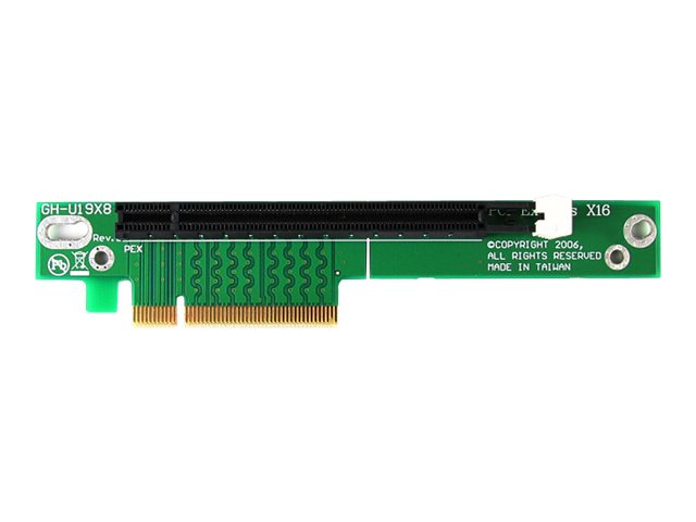 StarTech.com PCI Express Riser Card x8 to x16 Left Slot Adapter for 1U Servers