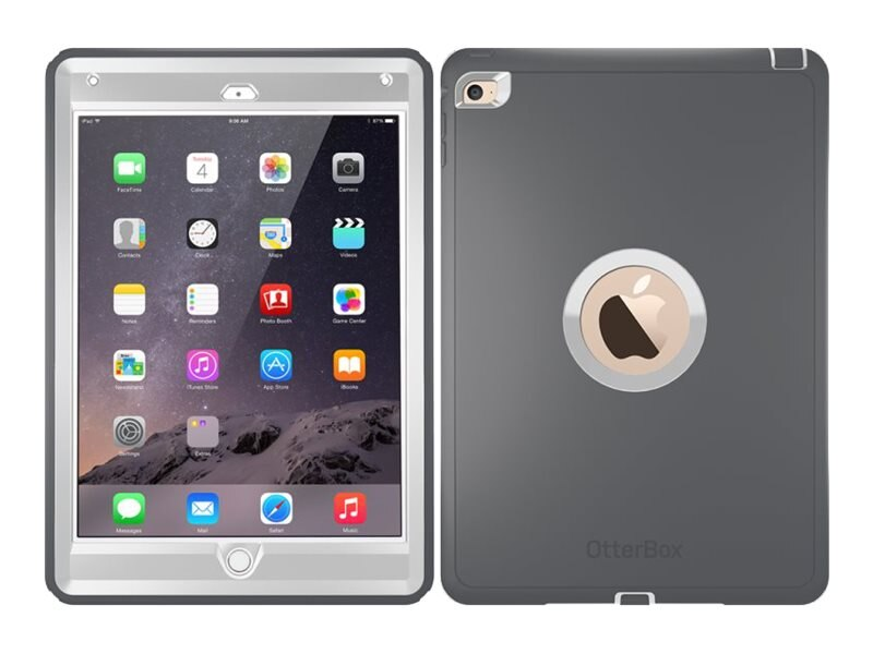OtterBox Defender Pro Pack for iPad Air 2, Glacier, 77-52009, 25875305, Carrying Cases - Tablets & eReaders