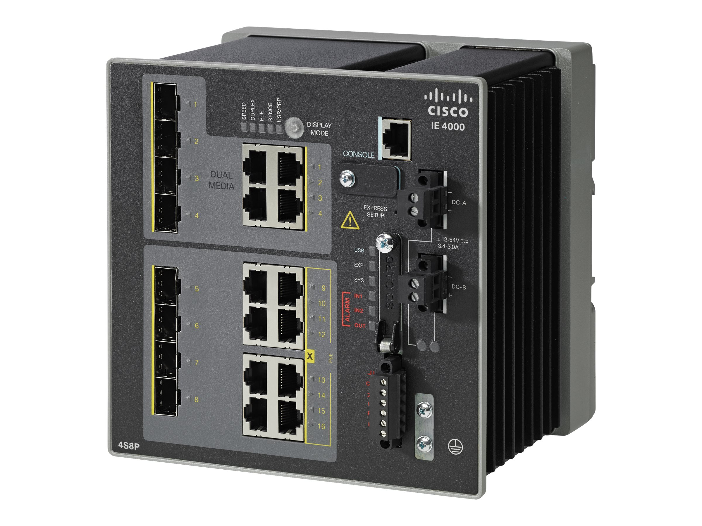 Cisco IE 4000 4 X Combo1G w 4 X 1G POE 4 X1G