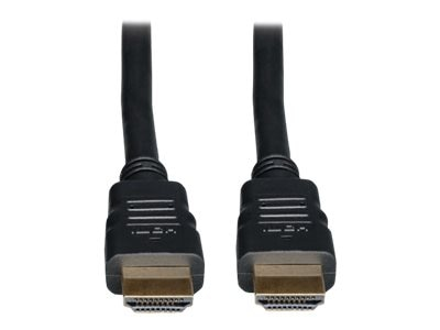 Tripp Lite High Speed HDMI M M In-Wall CL2-Rated Cable with Ethernet, Black, 10ft