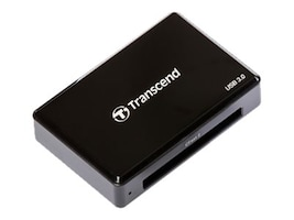 Transcend CFast 3.0 Card Reader, Black, TS-RDF2, 33540804, PC Card/Flash Memory Readers
