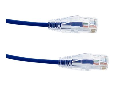Axiom CAT6 BENDnFLEX Ultra-Thin UTP Snagless Patch Cable, Blue, 100ft, C6BFSB-B100-AX