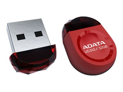 A-Data 16GB DashDrive Durable UD310 USB Flash Drive, Red
