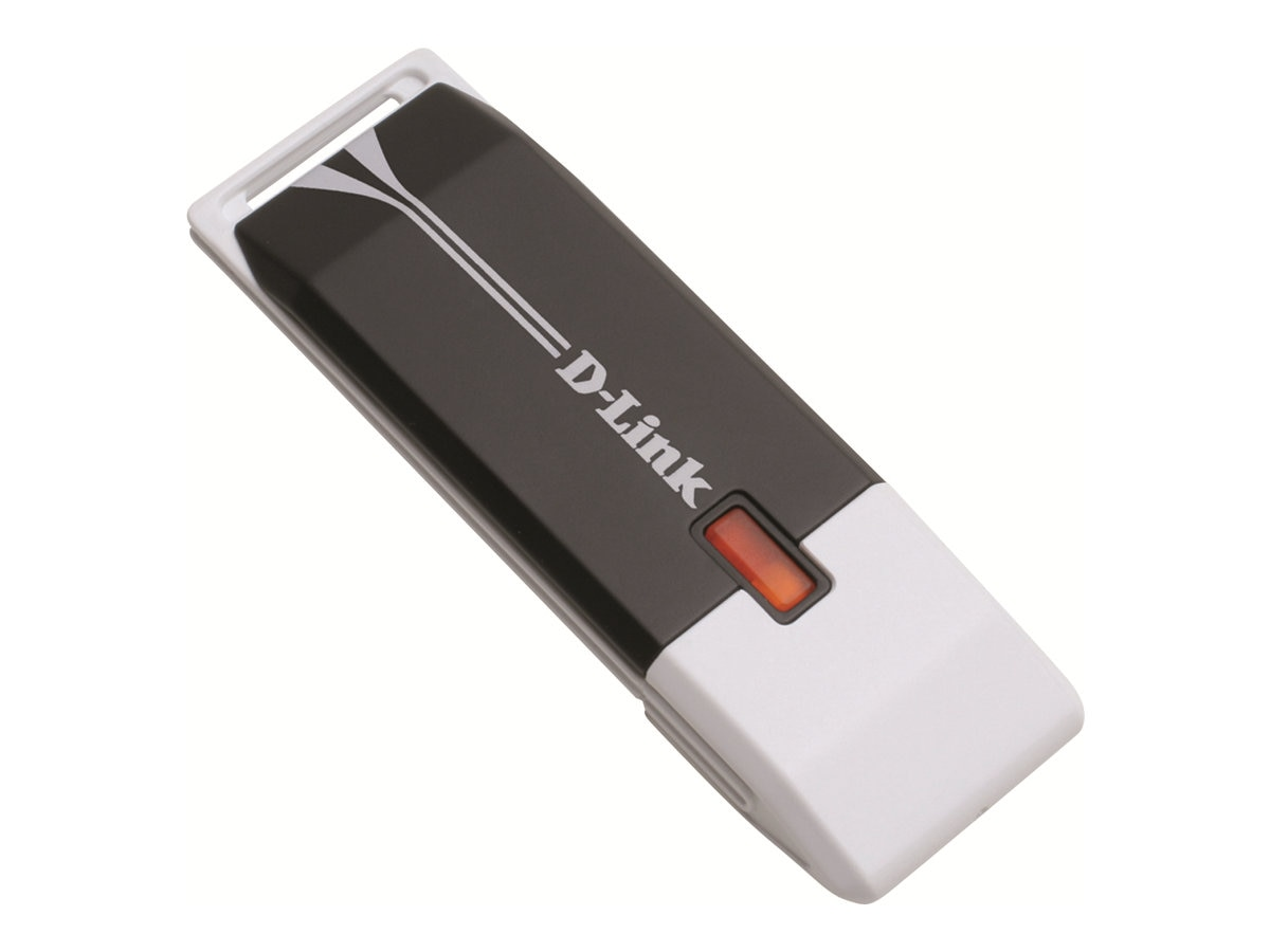 D-Link Wireless RangeBooster-N USB Adapter, Draft 802.11n, DWA-140, 8209677, Wireless Adapters & NICs