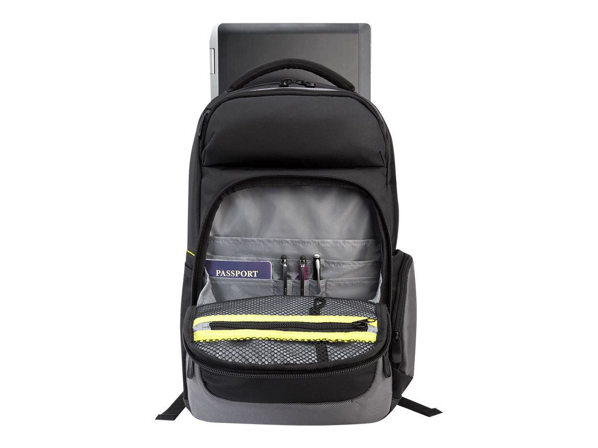 Targus Citygear II Checkpoint Friendly Backpack w  Dome Shock Dispersion, TCG665
