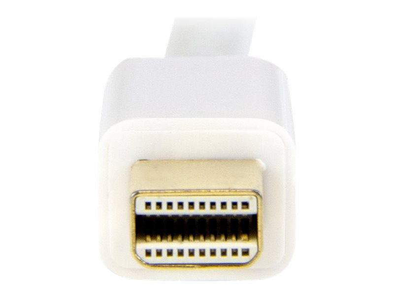StarTech.com Mini DisplayPort to HDMI Converter Cable, White, 1m, MDP2HDMM1MW