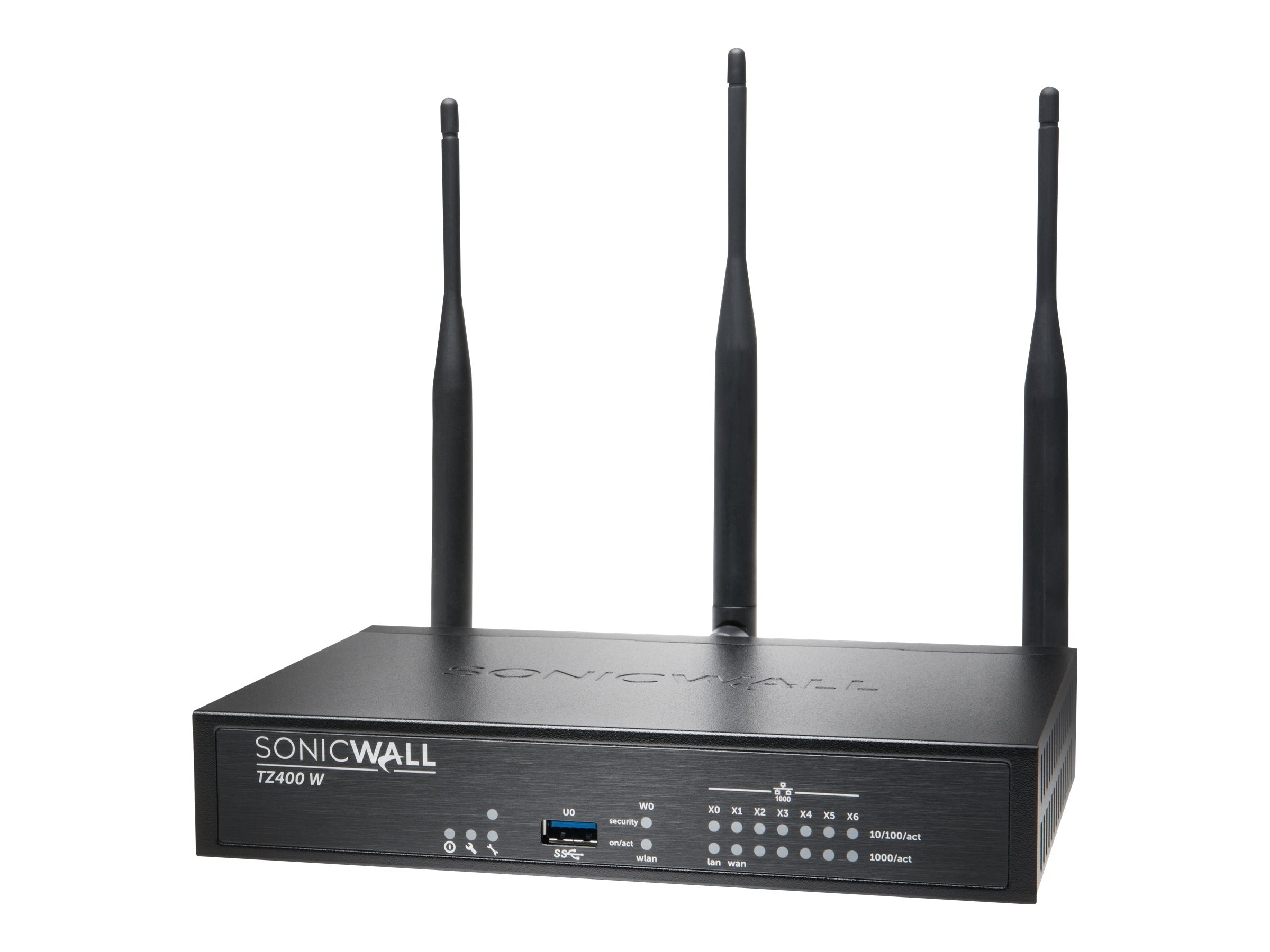 SonicWALL TZ400 WL-AC w TotalSecure (1 Year)
