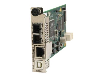 Transition 10 100 1000BASET to 100BASEFX NID, C2220-1011-D, 15306512, Network Transceivers