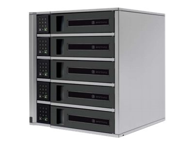Bretford Manufacturing 5-Bay 15-Device TechGuard Charging Locker, TL5C-K-US, 30597522, Charging Stations