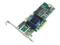 Adaptec 6405 Single RAID 0 1 10 SATA 512MB PCIe 3.3 12V MD2 LP Controller