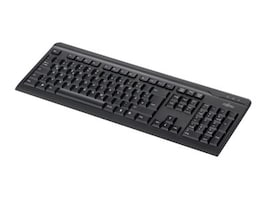 Fujitsu KB410 USB US English 104-key, Black, S26381K510-E410, 16068270, Keyboards & Keypads