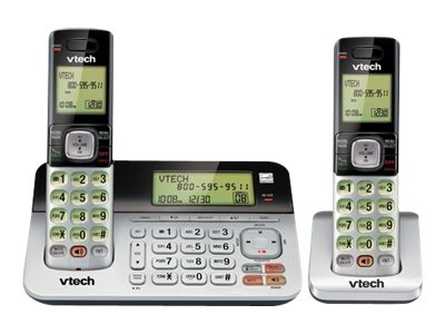 Vtech 2-Handset Cordless Answering System with Dual Caller ID Call Waiting, CS6859-2