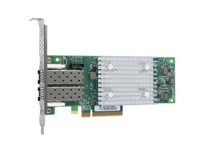 Qlogic 16GB Dual Port PCIe FC HBA with Low-Profile Bracket, QLE2692-SR-CK, 31643447, Host Bus Adapters (HBAs)