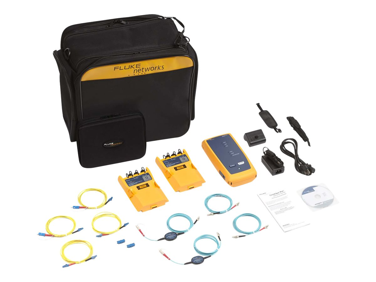 Fluke CFP-Q-ADD-R CertiFiber Pro QUAD Add-On Kit w Remote