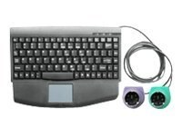 Innovation First Rackmountable Keyboard with PS 2 Connection, KEYBOARD-KVM-PS2, 7874229, Keyboards & Keypads