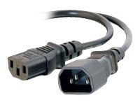 C2G Power Extension Cord, IEC320 C13 (F) to IEC320 C14 (M), 4ft, 03145, 8237416, Power Cords