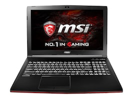 MSI GP62MVR Leopard Pro-408 Gaming Notebook Core i7-7700, GP62MVR408, 33632531, Notebooks