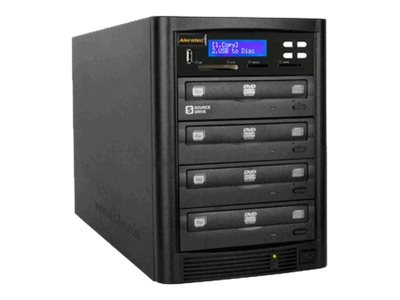 Aleratec DVD CD Flash Copy Tower 1:3 DVD CD Duplicator