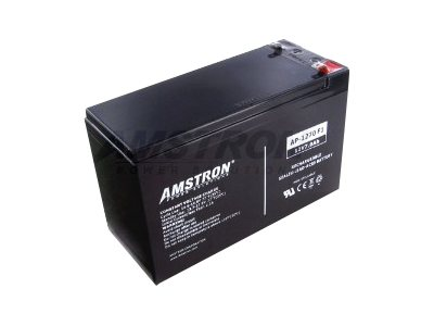 Amstron Power Sealed Lead Acid Battery 12V 7Ah w  F1 Terminal
