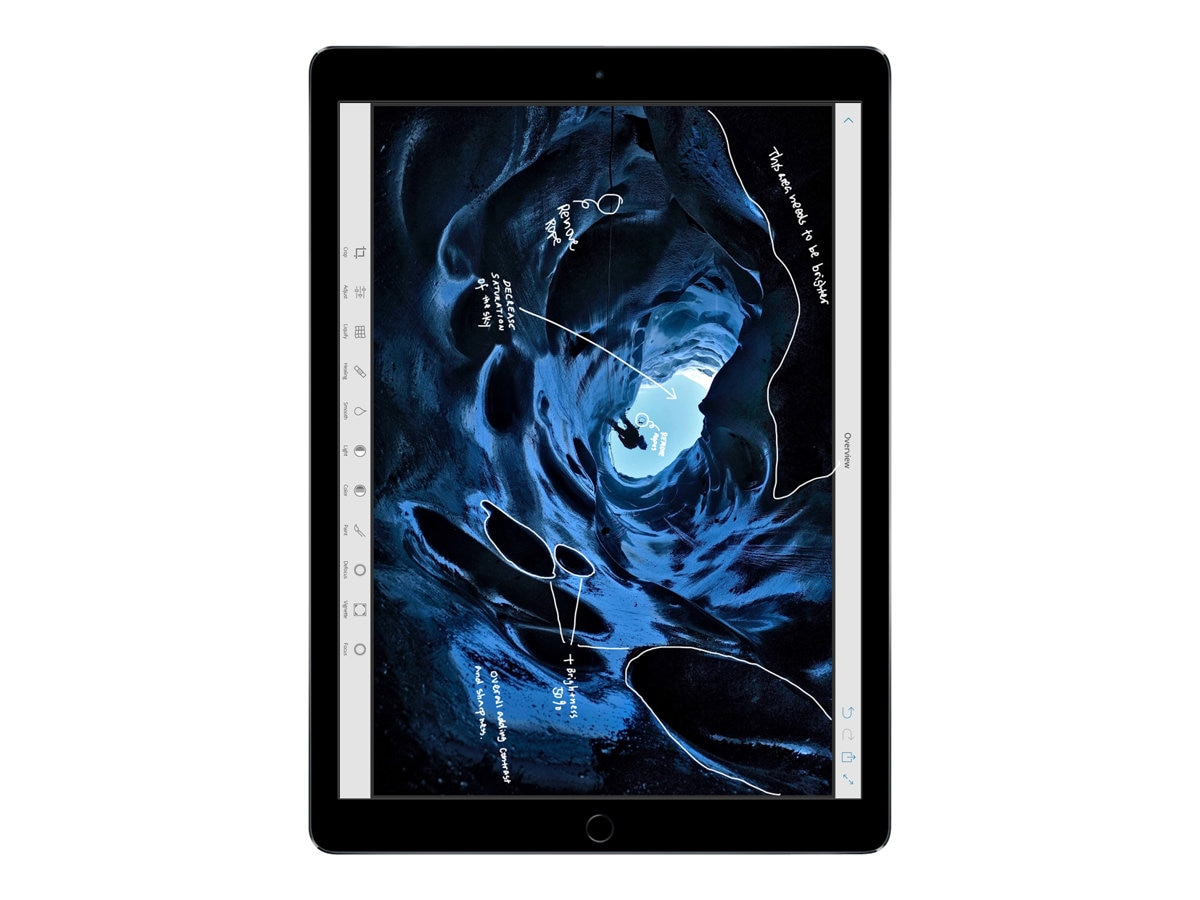 Apple iPad Pro 12.9, 32GB, Wi-Fi, Space Gray, ML0F2LL/A, 30768619, Tablets - iPad Pro