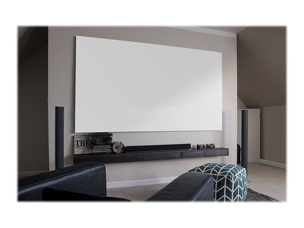 Elite Aeon Series Projector Screen, CineWhite, 16:9, 135