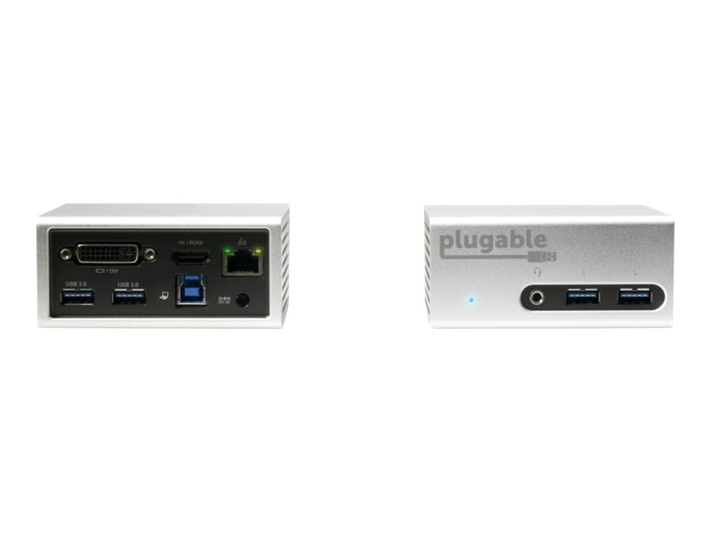 Plugable USB 3.0 4K Mini Dock with Dual Video, UD-5900
