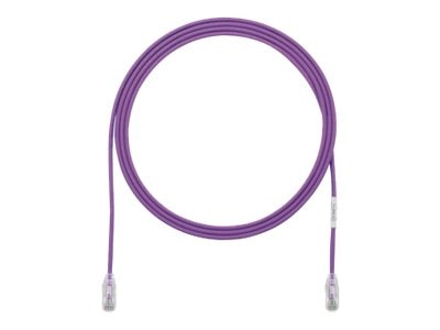 Panduit CAT6 28AWG UTP Patch Cable, Violet, 7ft, UTP28SP7VL, 19134826, Cables
