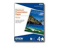 Epson 13 x 19 Matte Paper Heavyweight (50 Sheets), S041263, 179216, Paper, Labels & Other Print Media