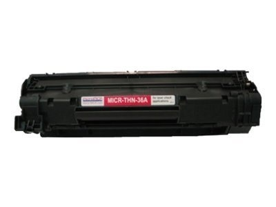 microMICR Black MICR Toner Cartridge for HP LaserJet P1505 & P1505n Printers, THN36A, 8320869, Toner and Imaging Components