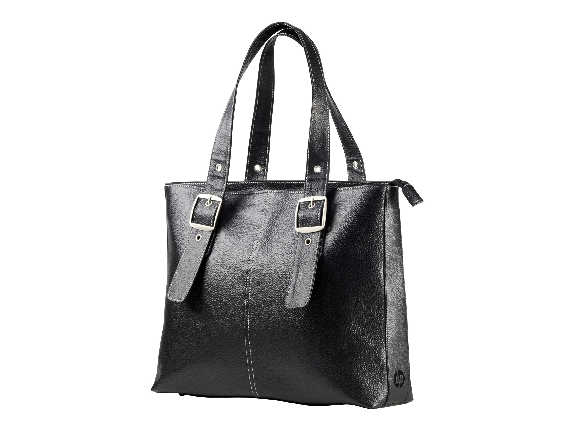 HP Ladies Tote, Black, F3W13AA, 16893624, Carrying Cases - Notebook