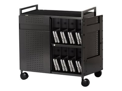 Bretford Manufacturing Netbook Laptop Cart, 32 Units, NETBOOK32