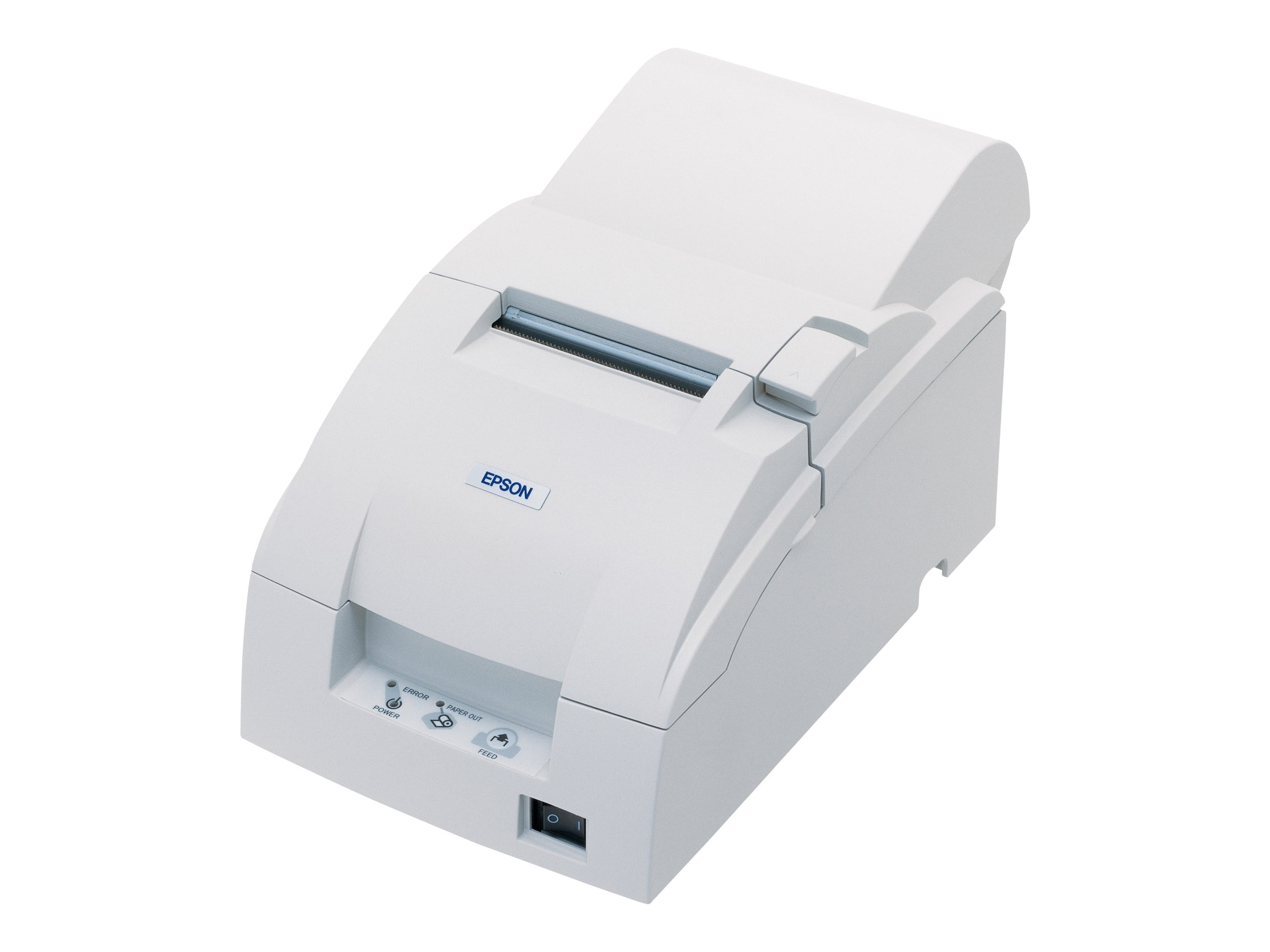 Epson TM-U220A Serial Receipt Printer w  Auto Cutter & Power Supply