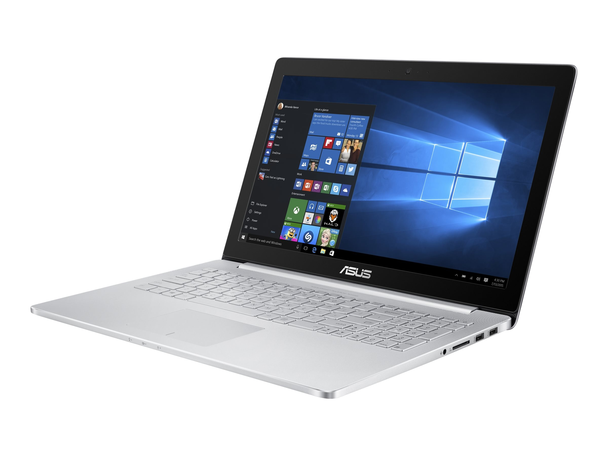 Asus Zenbook Pro Core i7 2.6GHz 16GB 512GB SSD 960M 15.6 4K MT W10H64