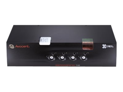 Avocent SwitchView SC Switch USB DVI-I Dual Link Dual Head Audio CAC EAL2+