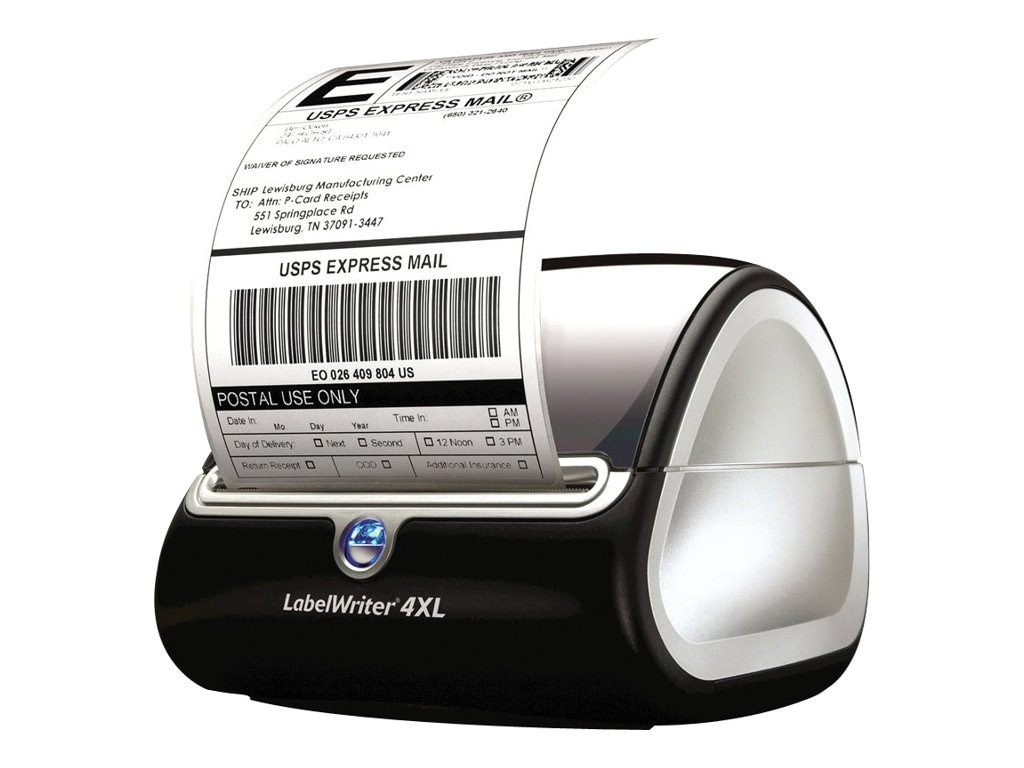 DYMO LabelWriter 4XL Label Printer - Black, 1755120