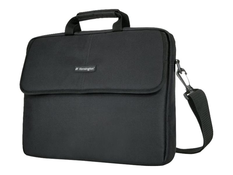 Kensington Simply Portable SP17 Classic Laptop Sleeve 17, Black, K62567USA