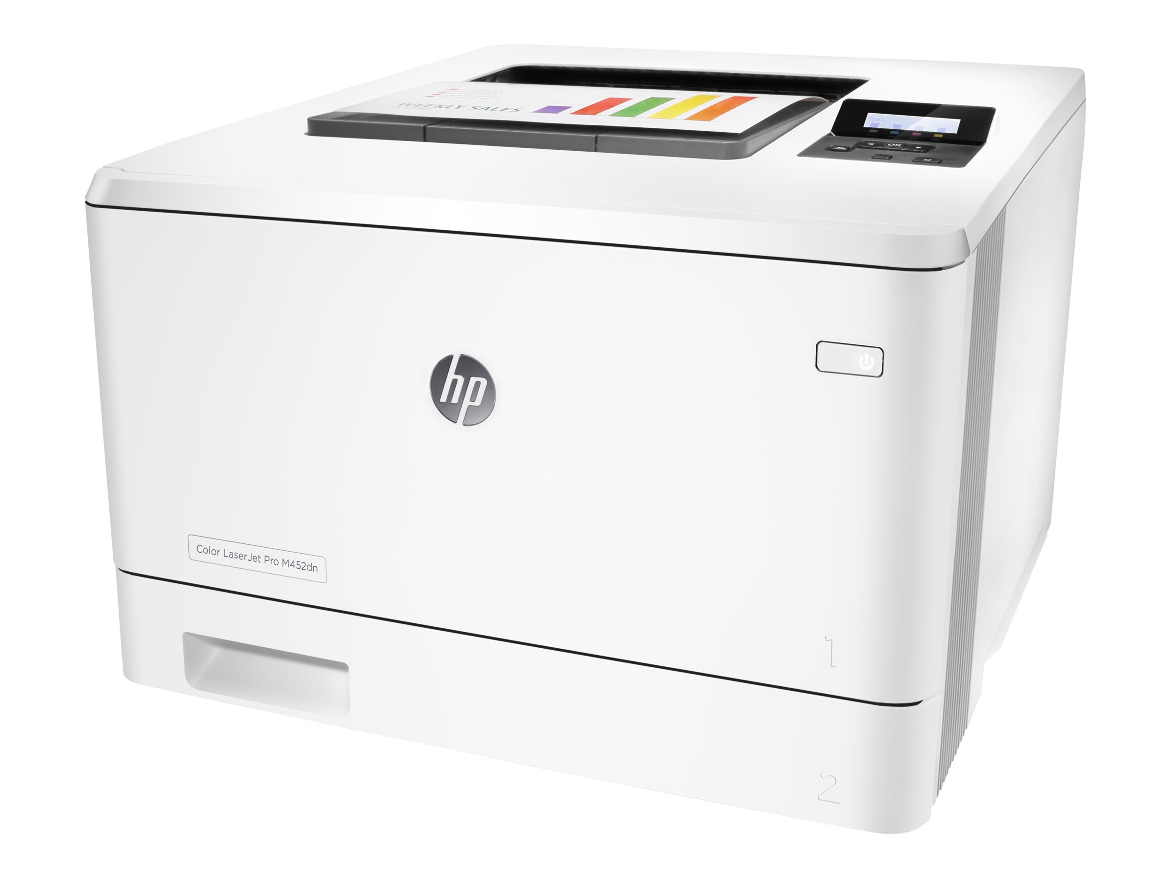 HP Color LaserJet Pro M452dn (replaces M451DN), CF389A#BGJ, 30617061, Printers - Laser & LED (color)