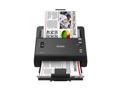 Epson WorkForce DS-760 45ppm 80-page ADF Document Scanner, B11B222202
