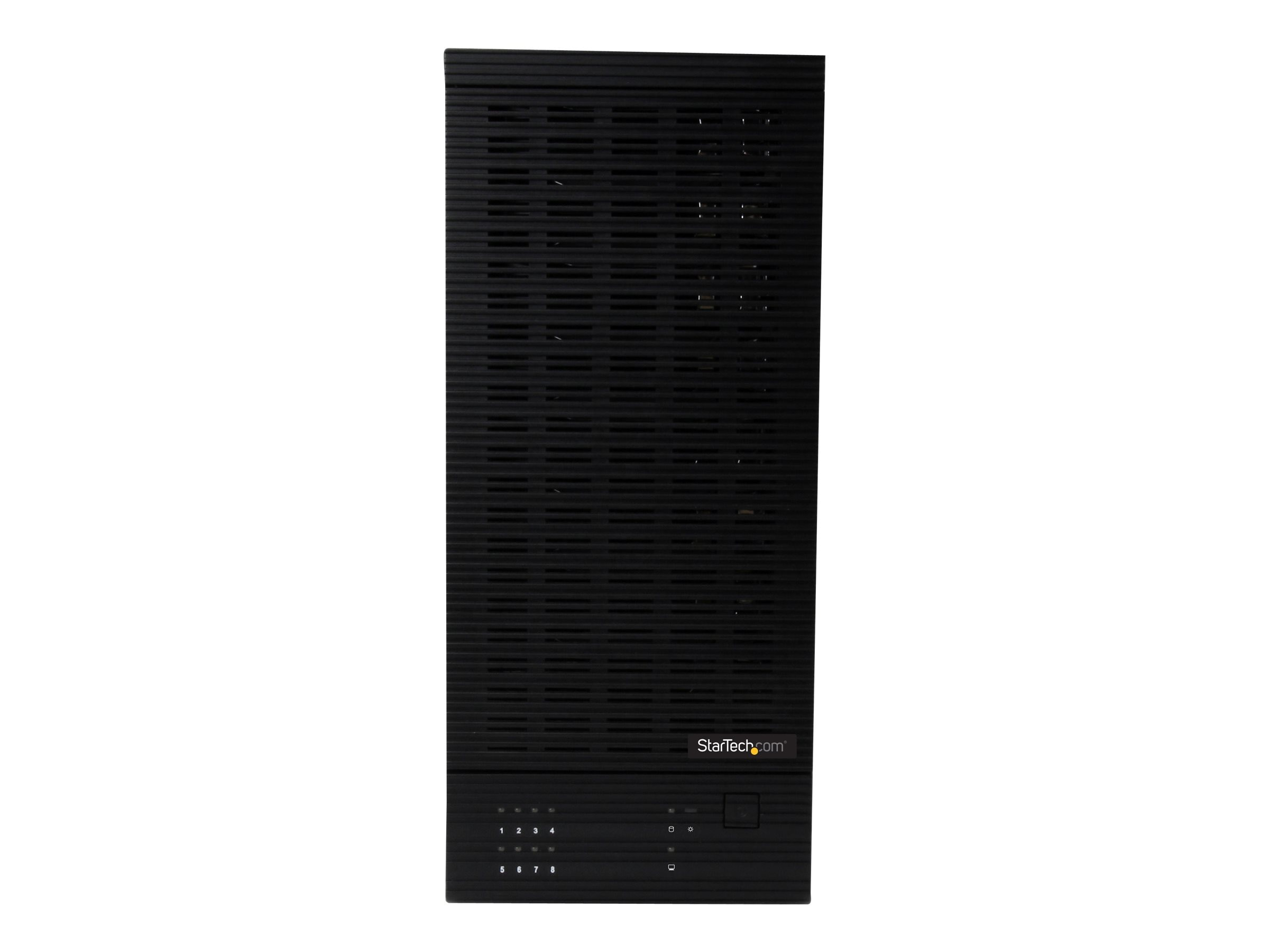 "StarTech.com USB 3.0   eSATA 8-Bay Hot-Swap 2.5 3.5"" SATA III Hard Drive Enclosure with UASP, S358BU33ERM"