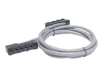 APC CAT5e 6x RJ-45 F F UTP Cable, Gray, 41ft