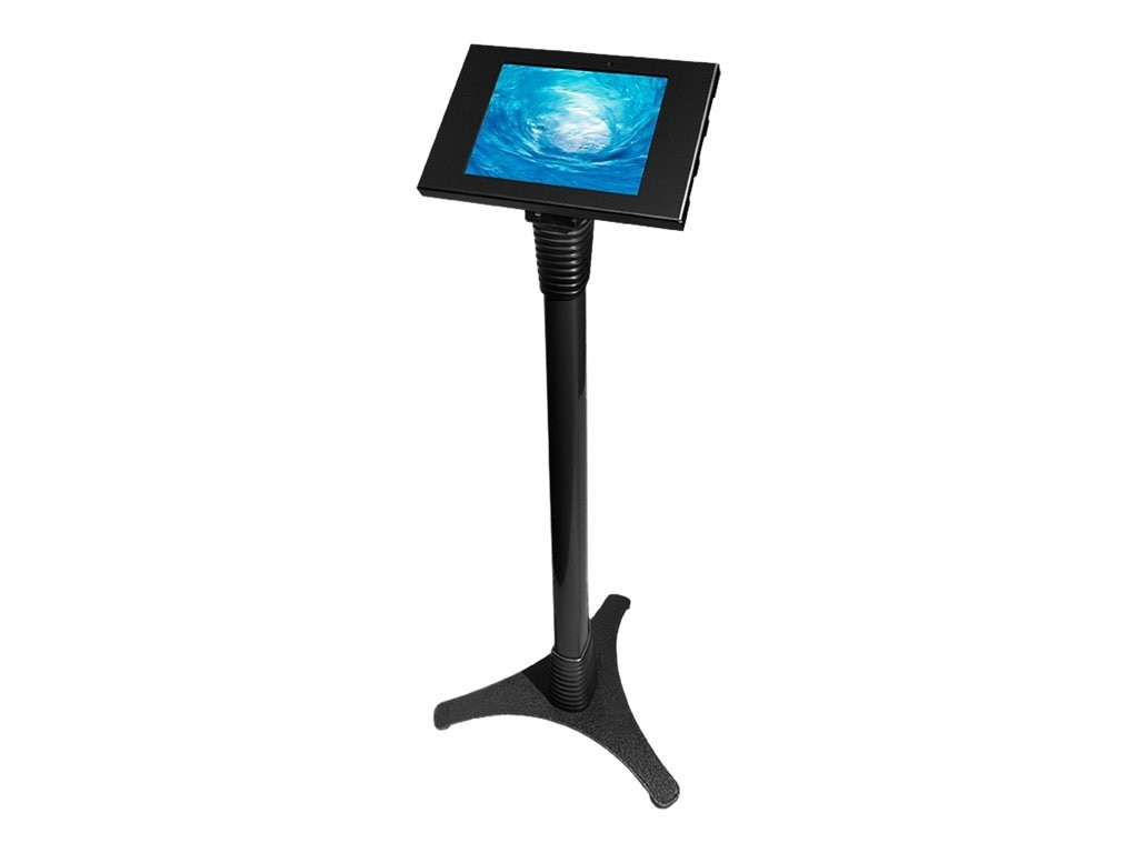 Compulocks Galaxy Tab 1 2, Note 10.1 Adjustable Stand, Black, 147B205GEB