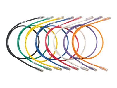 Panduit CAT6 UTP Copper Patch Cord, UTP, 7ft, UTP28SP7BU, 16677331, Cables