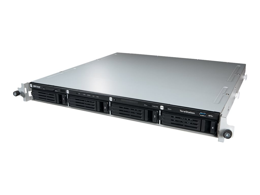 BUFFALO 16TB TeraStation 5400RN 1U Rackmount NAS, TS5400RN1604, 19021637, Network Attached Storage
